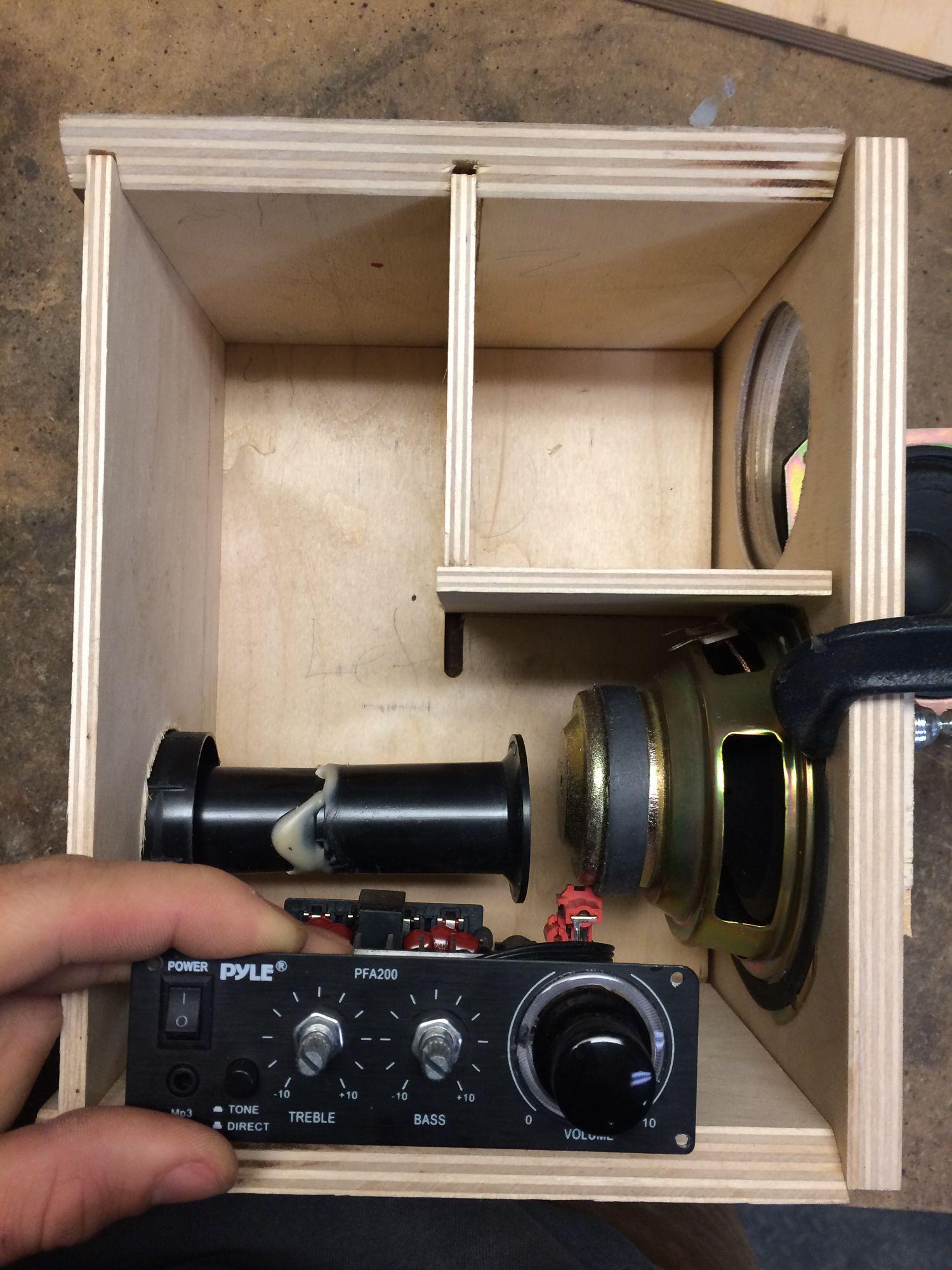 Bookshelf Speakers Bluetooth Enabled & Baltic Birch in