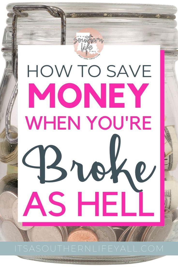 How to Save Money When You Have No Money | It's a Southern Life Y'all