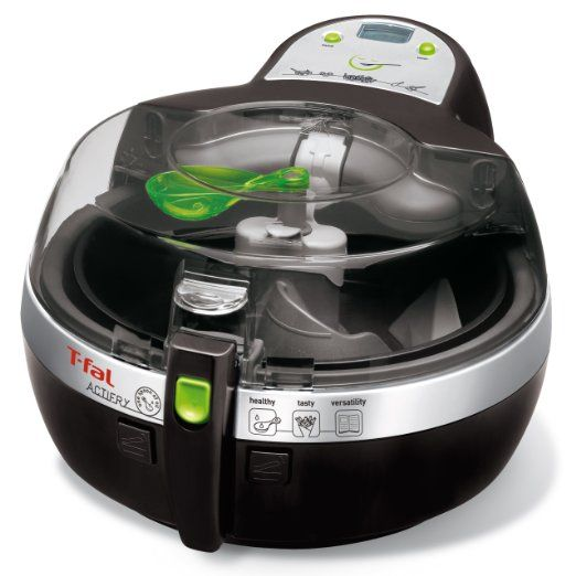 FZ700251 ActiFry Low-Fat Healthy Dishwasher Safe Multi-Cooker with nonstick interior, Black by T-fal