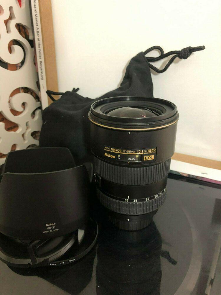 Nikon Af S 17 55mm 1 2 8 G Ed Dx Lens Nikkor Afs 17 55 Mm F 2 8g Lens Stuff To Buy Glassware