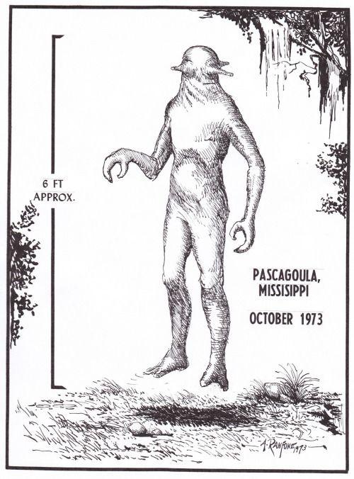 The Pascagoula Abduction Alien