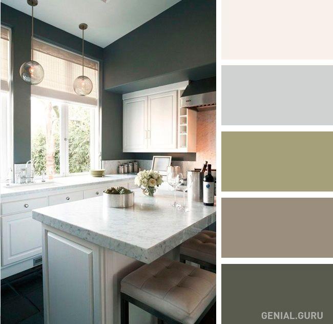 20 Perfectas Combinaciones De Colores Para Tu Cocina Colores De Interiores Colores Para Cocina Comedor Combinaciones De Colores Interiores