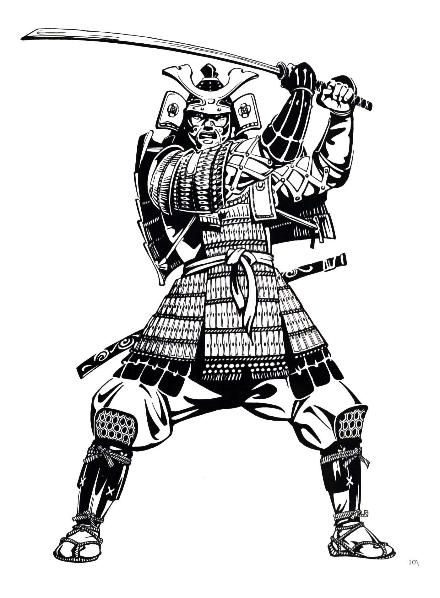 Japanese Samur Samurai