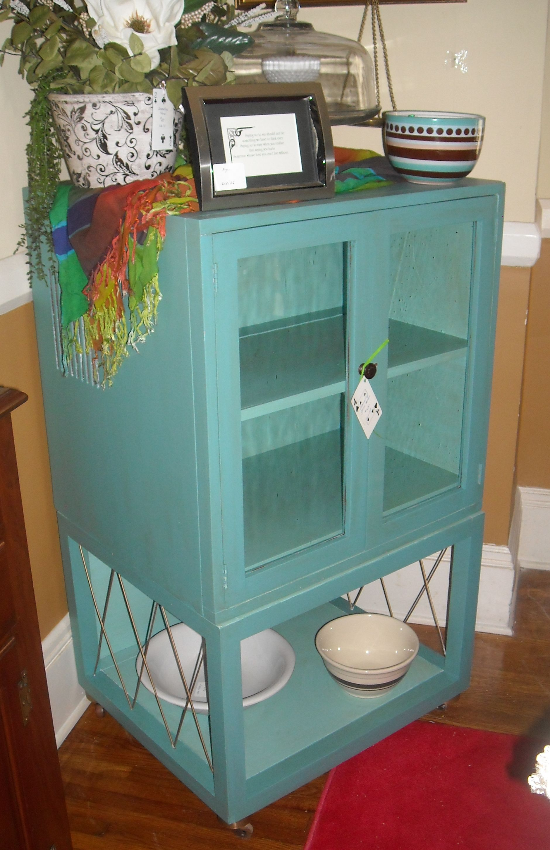 1950\'s Stereo Cabinet - great for dining area, kitchen or bath ...