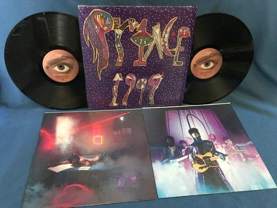 Vintage Prince 1999 Vinyl 2 Lp Set Record Etsy Little Red Corvette Red Corvette Record Album