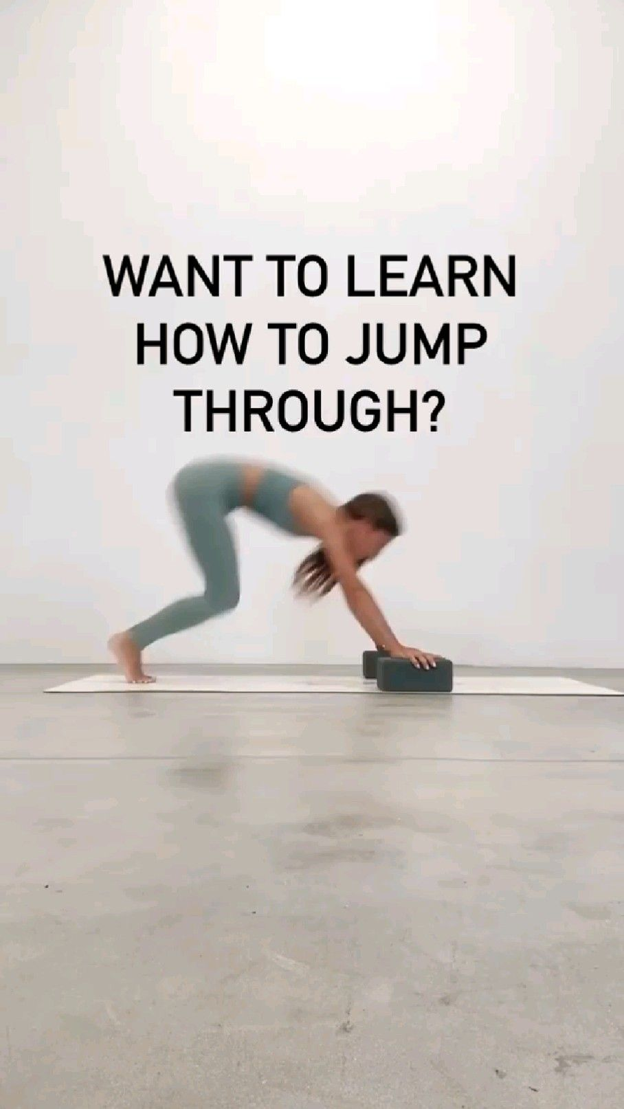want to learn how to jump through?