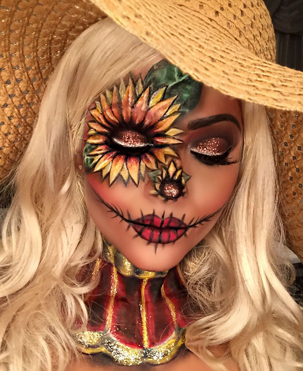 scarecrow makeup - Google Search #scarecrowmakeup