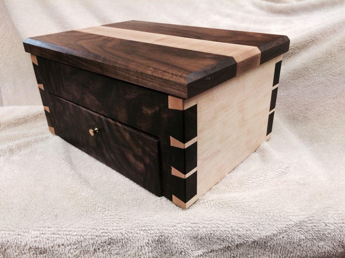 Kiefbox Woodworking Box Fine Woodworking Project Jewelry Box Plans