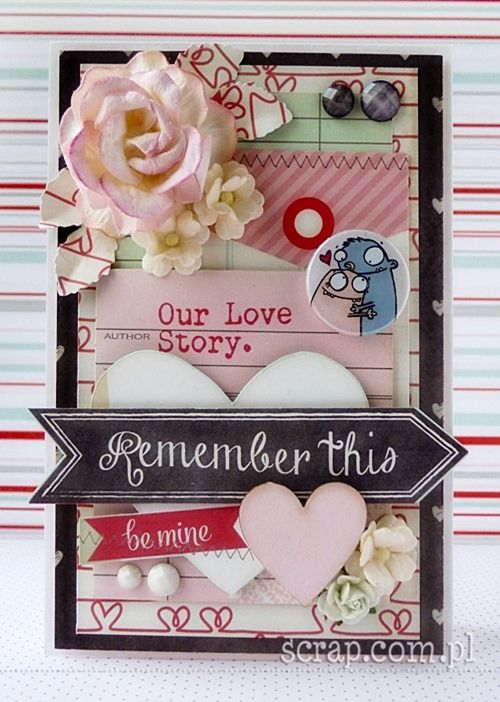 funny valentine card  http://www.hurt.scrap.com.pl/plakietki-ozdobne-flair-buttons-zakochane-potworki.html http://www.hurt.scrap.com.pl/serca-i-serduszka-tekturowe-10szt.html