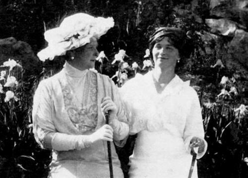 The Tsarina and Grand Duchess Olga
