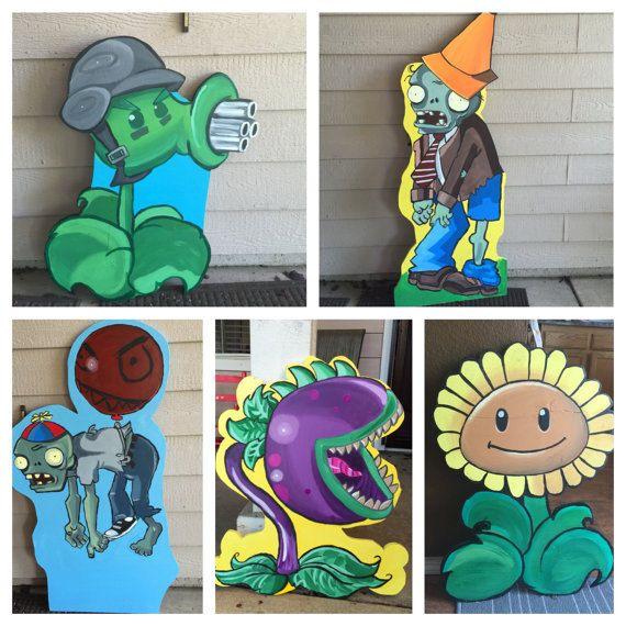 Plants Vs Zombies Plants Vs Zombies Party Plants by CreativChick