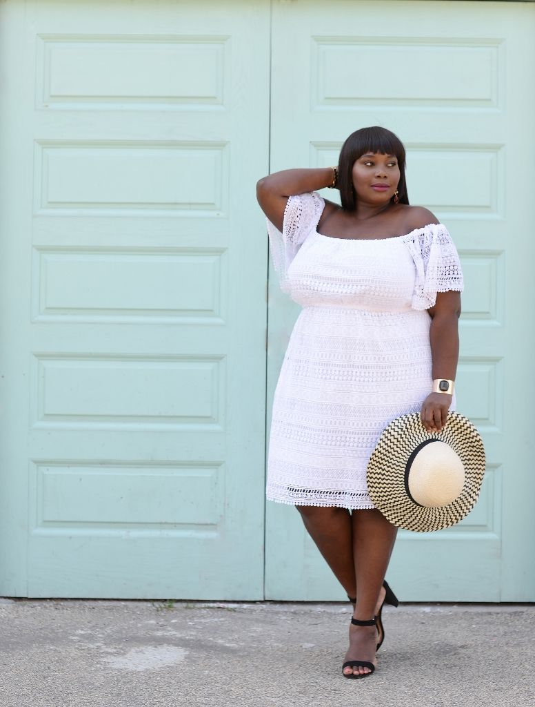 6964b89d03c68 Keeping It Chic In A Lace White Plus Size Dress