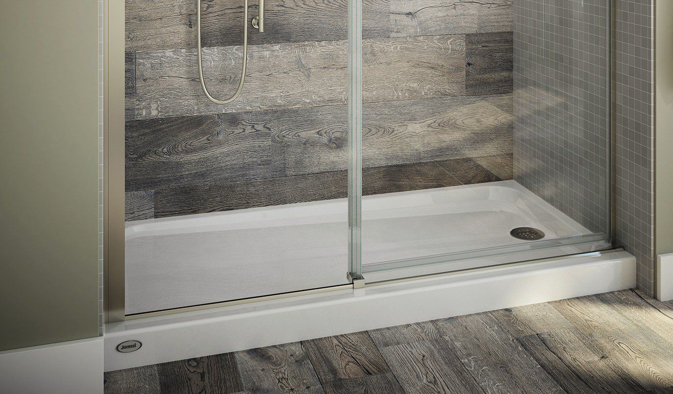 Primo® End-Drain Shower Base | Shower base, Jacuzzi and Showers