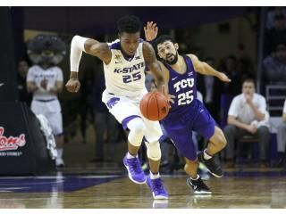 The TCU player is like hey that was my ball! lol