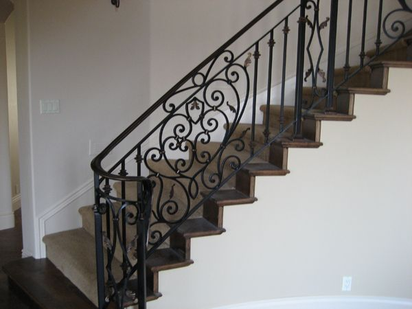 Good Wrought Iron Stair Railing #Stair