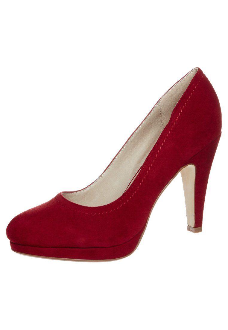 Buffalo - Højhælede pumps - rød