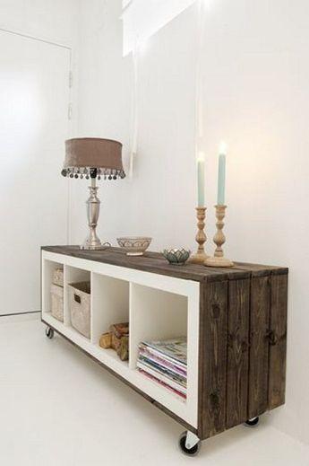 Ideas para tunear muebles básicos de Ikea  4ffb5e6150dc