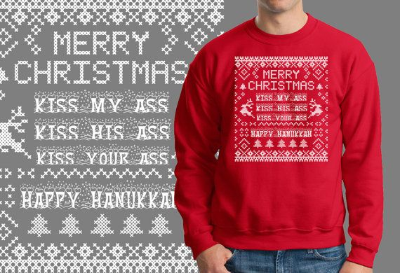 items similar to ugly christmas sweater christmas party gift xmas sweatshirt on etsy - Griswold Ugly Christmas Sweater