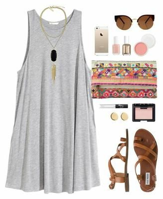 Outfits casuales con sandalias