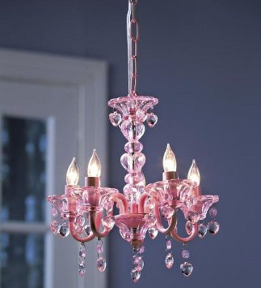 chandelier crystal lighting ceiling fixture kids girls