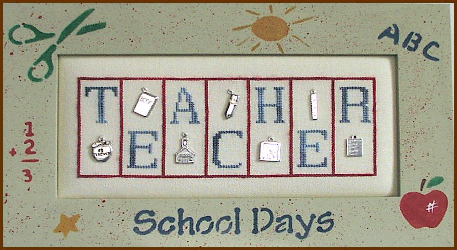 TEACHER  mini block