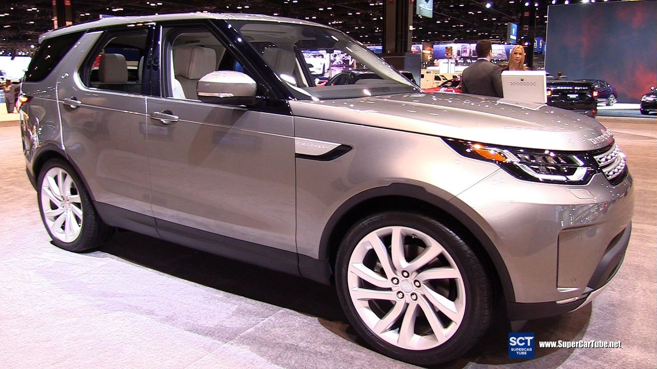 2017 Land Rover Discovery HSE LUX Exterior Interior