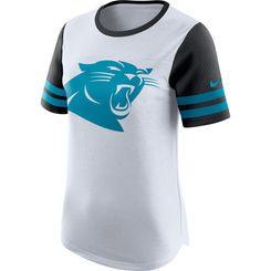sports shoes 7ee33 51e97 Women's Nike White Carolina Panthers Gear Up Modern Fan ...