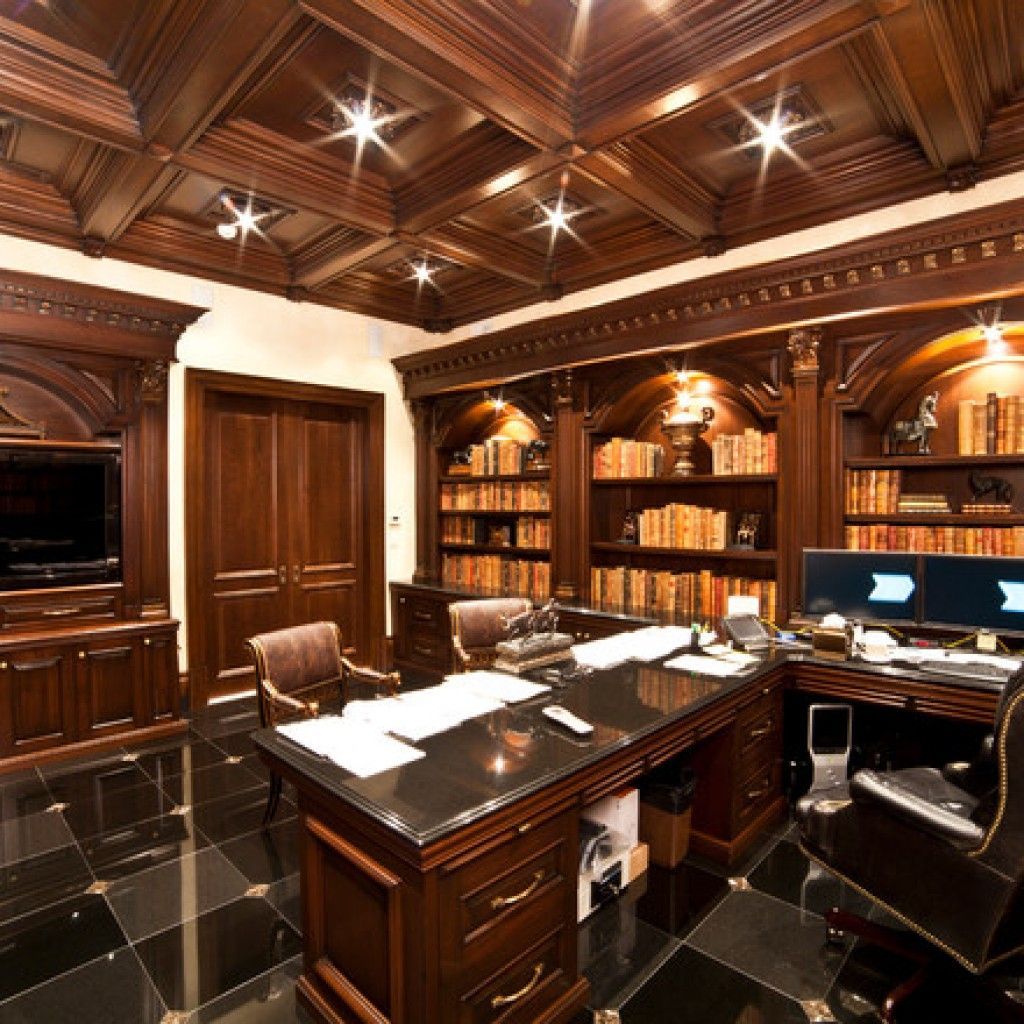 Pin By Golden Girl On Home Office Home Office Design Home Office Furniture Design Masculine Home Offices