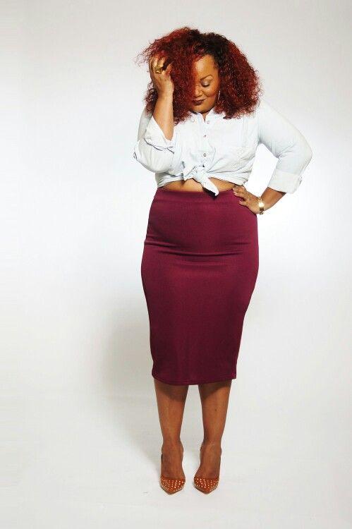 The Curvy Fashionista in Ava+ Viv