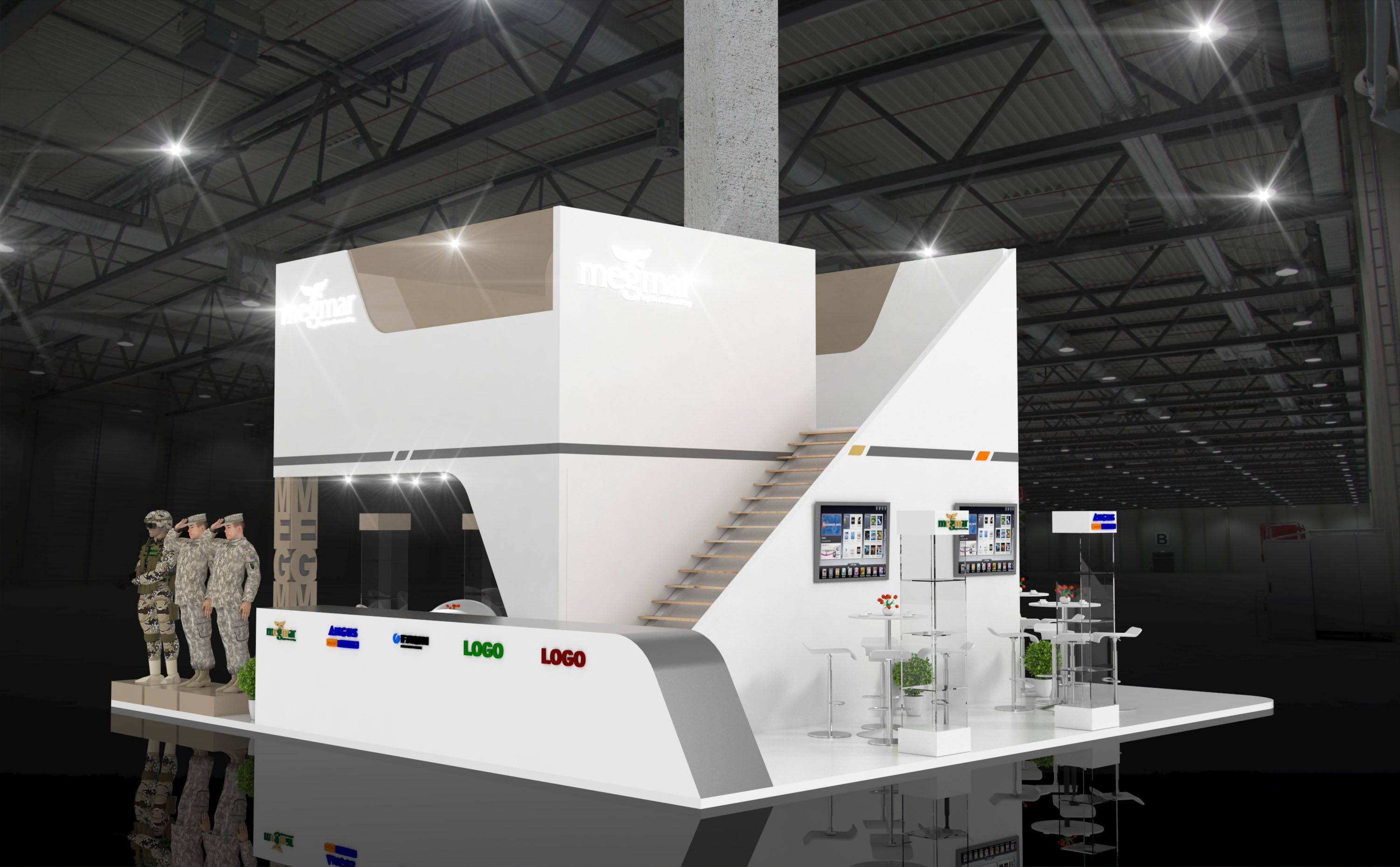 Exhibition Stand Accessories : Exhibition stand inspiration military producer equipment