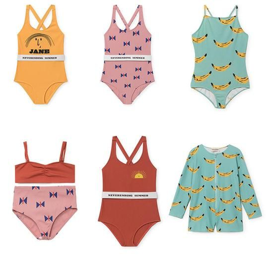 2018 Summer Pre-Sale Toddler Kids Swimwear Baby Boys Girls Bobo Bikini Swimwear One-Piece Swimsuit Choses Swimming Costumes 1-6Y