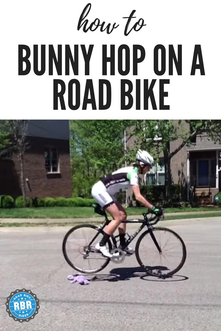 How To Bunny Hop On A Road Bike Road Bike Folding Mountain Bike