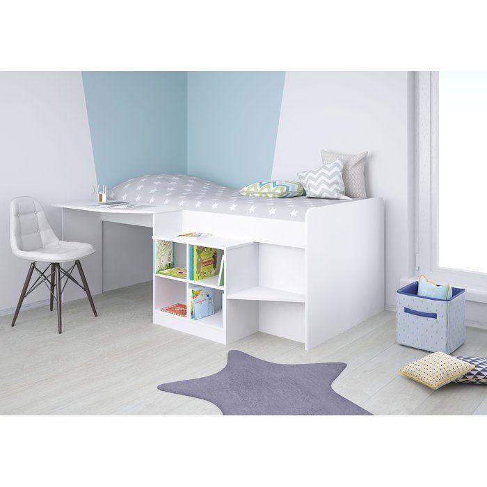 Alessia Single High Sleeper Bed | Mid sleeper cabin bed ...