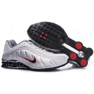 wholesale dealer c0368 0d354 104265 055 Nike Shox R4 White Red J09108