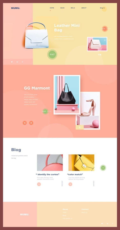 Ecommerce Web Design Color Palettes Color Palette For Web Design Ecommerce Web Design W Web Design Web Development Design Web Layout Design