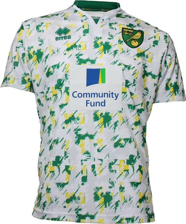 Norwich City FC (England) - 2016/2017 Erreà Third Shirt