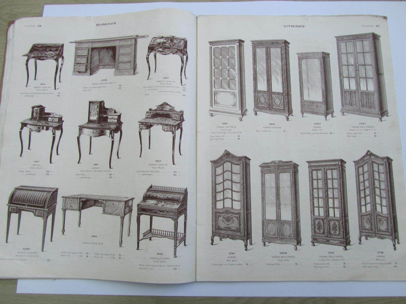 Catalogue Meubles De Style De Fantaisie Maxime Clair Fils Vers  # Catalogue Des Meubles
