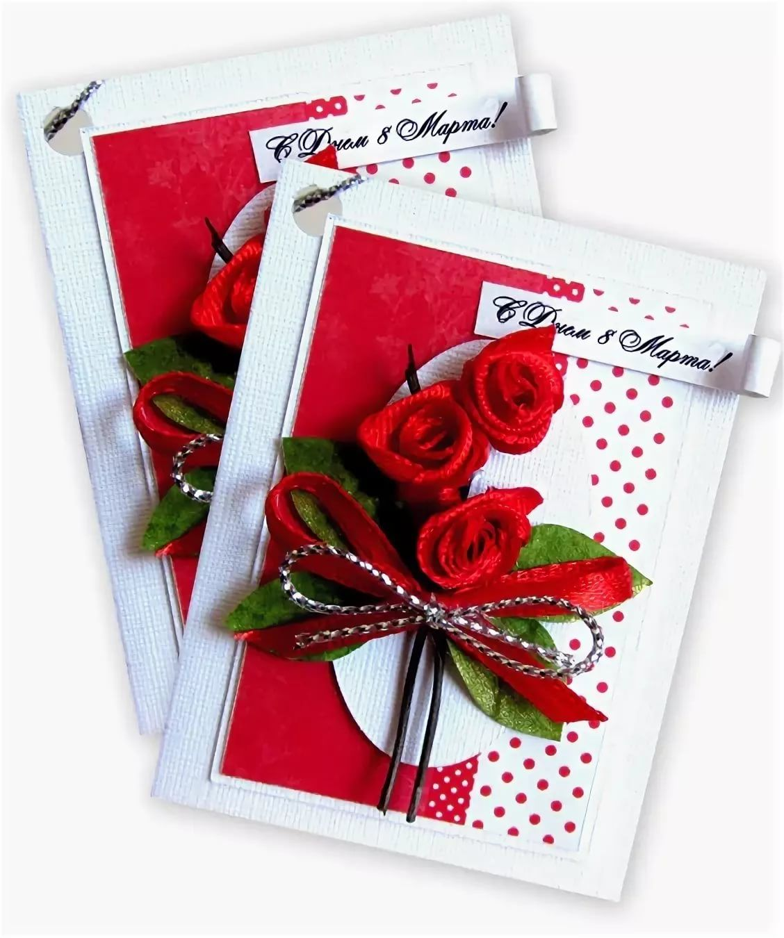 Маленькие открытки к подарку своими руками