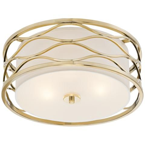 Austen 16 Wide Plated Gold Ceiling Light 8f761 Lamps Plus