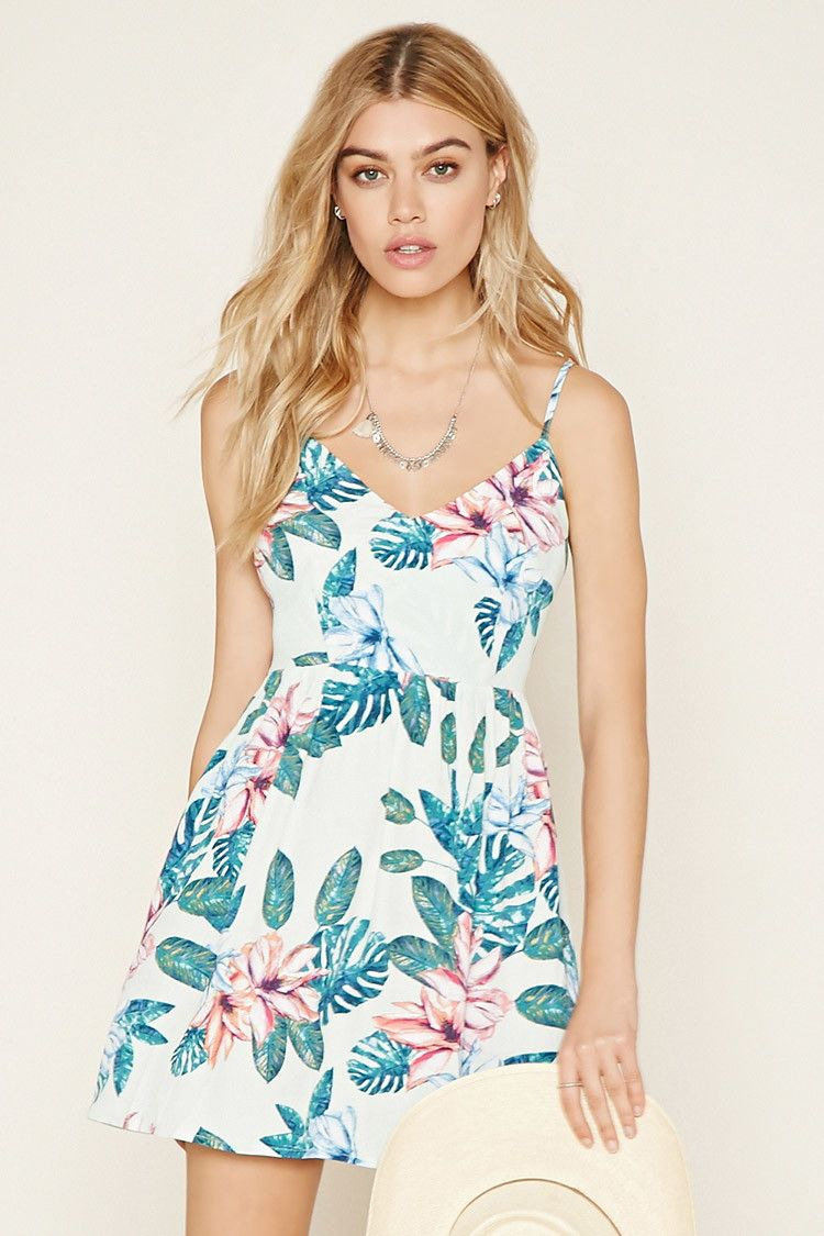 Vestido verde flores pull and bear