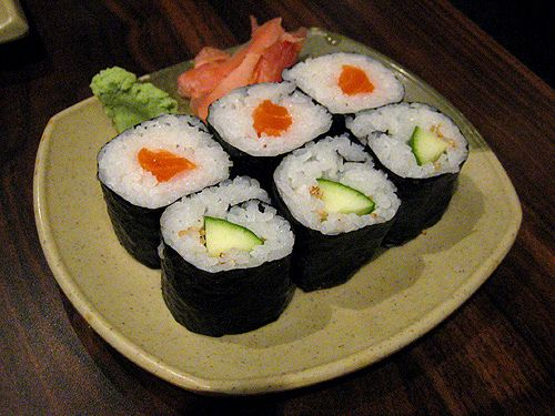 Recette Sushi Maki Au Concombre Sushi Maki California Roll