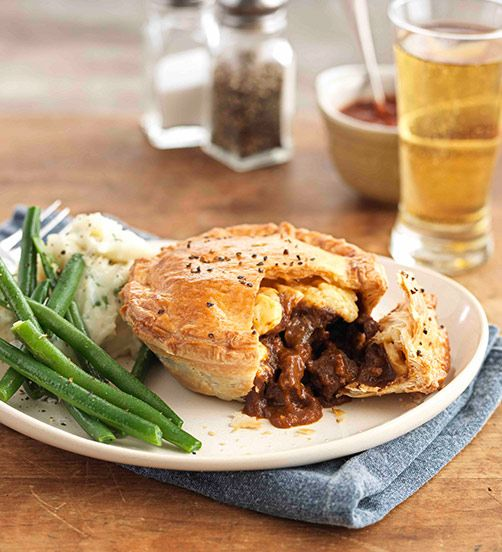 The quintessential Kiwi steak and cheese pie gets a smoky ...