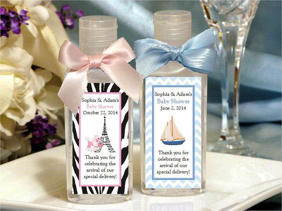 Attractive BABY SHOWER Hand Sanitizers Favors Jungle Sports By Shadow090109, $2.85