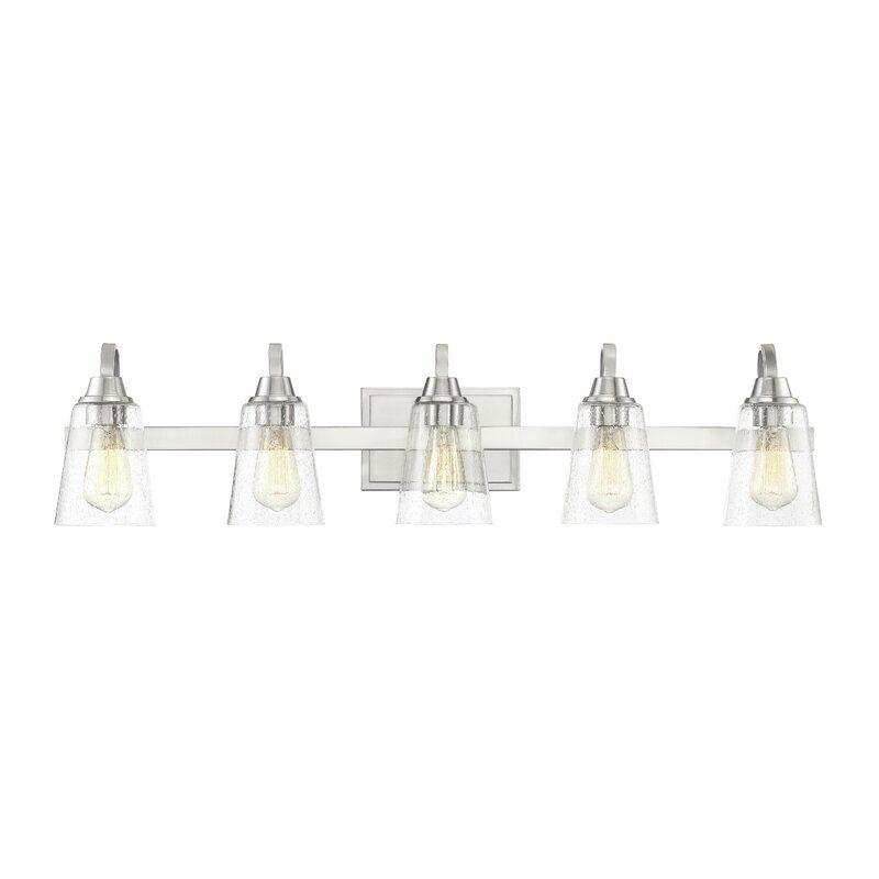 5 Light Dimmable Vanity, 5 Light Bathroom Fixture