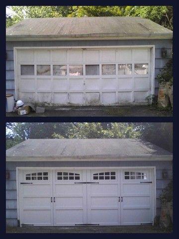 Pin By Overhead Door Company Of Water On Carriage House Custom Wood Courtyard And 199 192 Collections Double Garage Door Residential Doors Garage Door Windows
