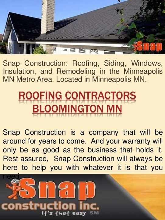 Roof Replacement Contractor Minneapolis Roofing