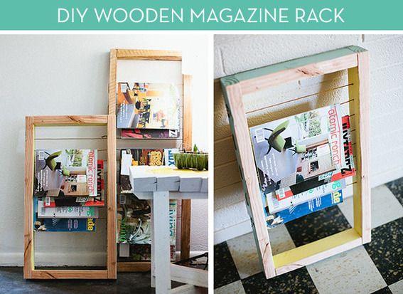 Make It Easy Diy Magazine Rack