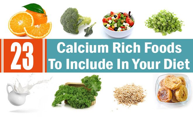 23 Alimentos ricos en CALCIO  23 CALCIUM Rich Foods
