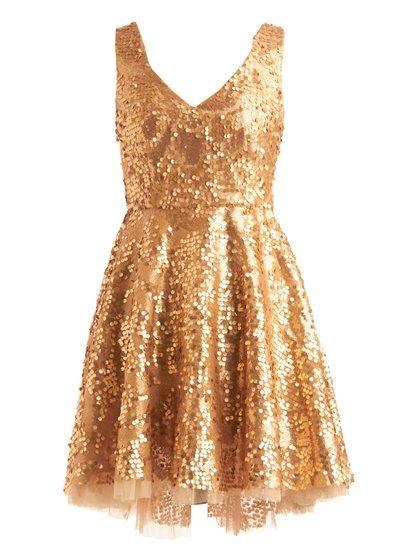 Golden Birthday Dress 21