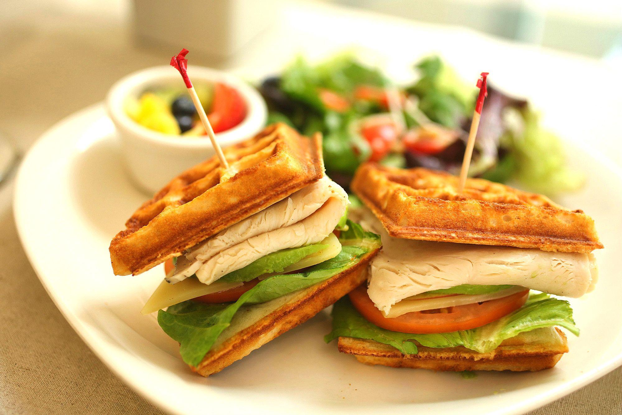 Turky Waffle Sandwich